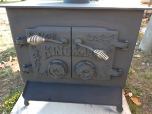 Wood stove asking  $400 or BO