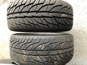 3 General g force summer tires 205/40/zr 17