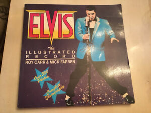 Elvis Presley the illustrated record