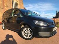 *12 MTHS WARRANTY*2012(62)VW TOURAN 1.6 TDI(105BHP)7 SEATS*85K FSH 2 KEYS*