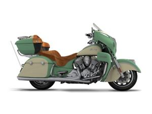 2017 Indian Roadmaster Willow Green Over Ivory Cream