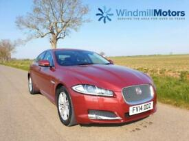 image for JAGUAR XF 2.2 TD LUXURY (s/s) 4DR CARNELIAN RED - ONLY 27K MILES! - F.JAG.S.H