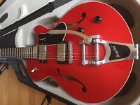 Beautiful Mint Godin Montreal Premiere with Bigsby