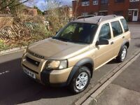 Land Rover Freelander TD4 4x4 owned from new