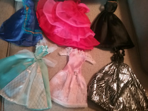 Barbie Doll Dresses With Shoes ($3 Each)