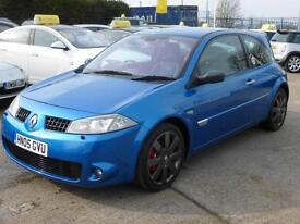 RENAULT MEGANE 2.0T 225 RENAULTSPORT, CHASSIS PACK, 78,000 MILES ONLY