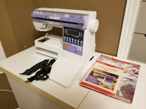 Husqvarna viking sewing machine, made in Sweden