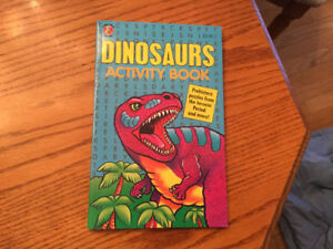 Dinosaurs Activity Book  (NEW)