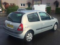 BARGAIN!!/DRIVES AMAZING!!/RENUALT CLIO 1.2//MOT-MAY2017//SERVICE HISTORY//6 CD CHANGER
