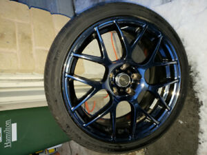 "18"" inch. 18. MSR rims and tires. 225/40/ZR18 Ironman Tire,"