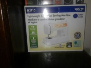 Brother Sewing Machine Model jx1710