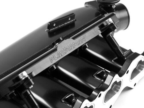 Mitsubishi Evo Billet Inlet Manifold 4 Injector  - Plazmaman - Black