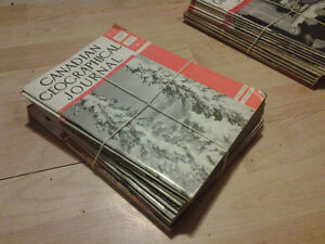 1945 Canadian Geographical Journal Magazine Collection Set