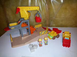 Toy construction site