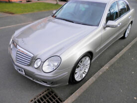 MERCEDES E280 SPORT AUTO 2007 REG 2987CC 190 BHP NICE COND LEATHER SEATS GOOD DRIVE ANY TRIAL/INSP