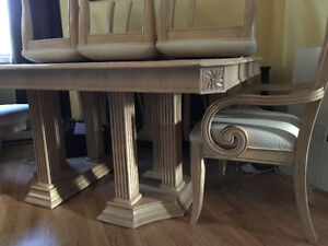 Beautiful Italian style dining Set and buffet