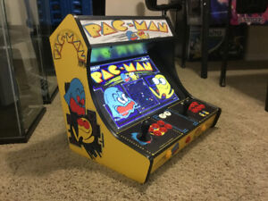 New The Home Arcade Bartop Cabinet with 9,880 games plus Wty
