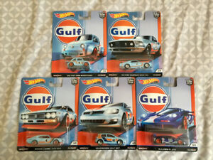 Hot Wheels Diecast Cars - 2019 Gulf set