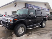 2003 HUMMER H2 !! 4X4 !! LEATHER !! SUNROOF !! ONLY 179,000 KMS