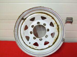 White Ranger 16 inch X 6 inch Wheel with 8 lug bolt pattern