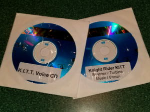 KNIGHT RIDER SOUND EFFECTS CDS