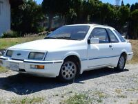 1985 Ford Other white Coupe (2 door)