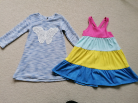 Girl's dresses for 2-3 years old, 98cm