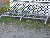 TOP QUALITY OUTDOOR BICYCLE RACK;   Sale/trade