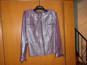 7 authentic danier womens' leather jackets various sizes