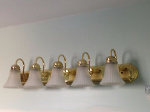 Light Fixtures - Great condition! PRICE NEGOTIABLE***