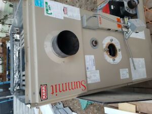 Oil Furnace, with riello 40 burner and extra controls for sale.