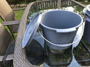 Commode Chair buckets - never used