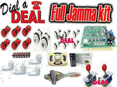 jamma arcade machine Kit DIY Build  kit Full kit  table etc