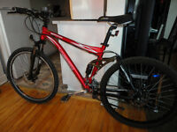 Great Adult Size Full Suspension Mountain Bike!