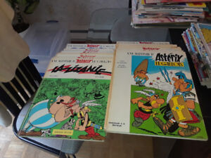 Collection  bd Asterix