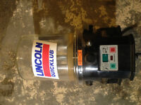 Lincoln Qwicklub pump with data logger (new)