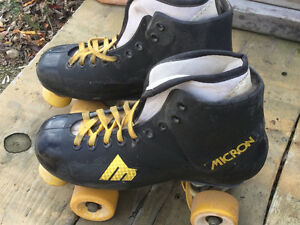 Micron 8 Vintage Roller Skates Kitchener / Waterloo Kitchener Area image 1