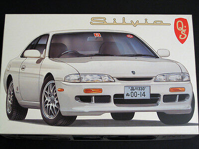 1/24 Japan Fujimi Nissan JDM S14 Silvia Q's Plastic Model Kit for sale  USA
