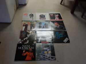 Small pile of  vinyl Records for sale Various Artists 15$ OBO