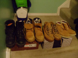 Timberland boot  size 7.5 and 8   (( for girl ))