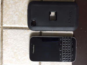 BlackBerry with Otter Box Case