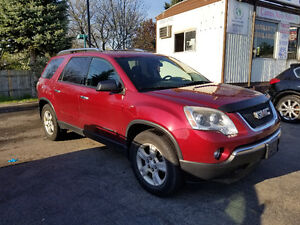 2008 GMC Acadia 8 Passenger SUV AWD Certified New Tires