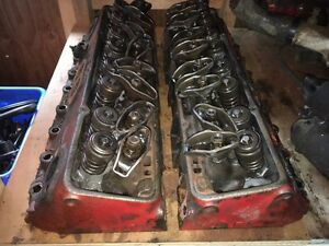 Sbc Heads, Intake, Valve Covers, Water Pump, Timing Chain Cover