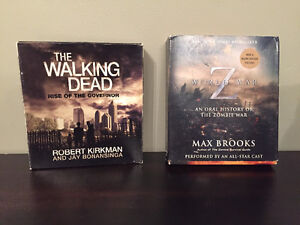 The walking dead and world war z audio books