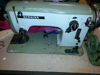 SEWING MACHINES BLINDSTITCH ,STEAM IRON BERNINA