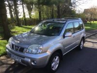 2004 Nissan X-trail 2.2 DCI Sport-1 previous owner-full history-October 18 mot-great value