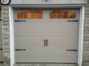 """Two 8x7 - 2"""" Thick Insulated Garage Door For Sale"""