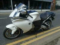 2011 HONDA VFR1200 DCT IN WHITE, GREAT TOURING AUTOMATIC.