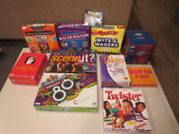 All board games for 30.00