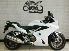 2014/64 HONDA VFR800 SPORTS TOURER single swing arm low miles px, deliver y